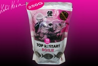 LK Baits Boilie Top ReStart Black Protein 18mm 250g