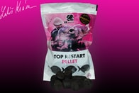LK Baits Pelety Top ReStart Pellet Black Protein 28mm 1kg