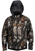 Norfin Fleece Bunda Hunting Thunder Hood Staidness / Černá - XL