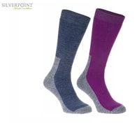 Silverpoint Ponožky dámské Merino Wool All Terrain Hiker 2páry - 36-38
