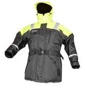 Spro Plovoucí bunda a kalhoty žlutočerný - bunda vel. XXXL