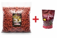 Extra Carp Boilie 20mm 5 kg + boilies - Monster Crab - Pineapple + boilies ZDARMA!