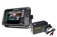 Lowrance Echolot HDS-9 Gen3 + sonda Skimmer 83/200 kHz + sonda 3D + baterie + nabíječka ZDARMA
