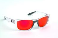 Fox Rage Polarizační brýle Trans/Mirror Red Finish/Grey Lens