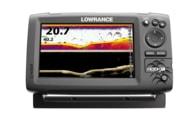 Lowrance Echolot Hook-7x + Sonda HDI 83/200 455/800 KHZ + baterie + nabíječka ZDARMA