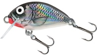 Salmo Wobler Tiny Floating 3cm - Holo Grey Shiner