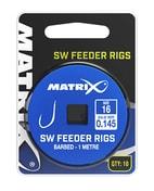 Matrix Návazec 1M SW Feeder Rigs 10ks - vel.10 / 0,165mm