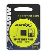 Matrix Návazec 1M SP Feeder Rigs 10ks - vel.12 / 0,145mm