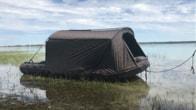Fox Člun s bivakem FX420 Camo Boat Bivvy