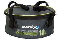 Matrix Míchačka na krmení Ethos Pro EVA Groundbaits with lid & handles 10l