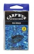 Carp ´R´ Us Koužky na návazce Rig Rings 3mm 15ks