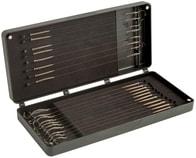Fox Pouzdro na návazce Medium Double Rig Box Sys Inc Pins