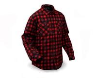 Rapala Softshellová Bunda Insulated Softshell Shirt Red/Black