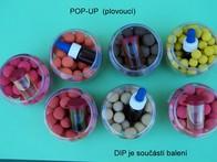 LK Baits Pop-up Cass 07 Rose + Dip