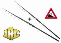 JRC Prut teleskopický Contact T-13 3,9m/3lbs, AKCE 1+1!