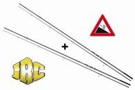 JRC Kaprový prut POWERPLAY 12ft 3.00lb dvoudílný, AKCE 1+1 ZDARMA!