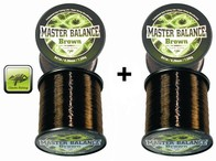 Giants Fishing Vlasec Carp Master Balance Brown 0,28mm/812m, akce 1+1 zdarma!