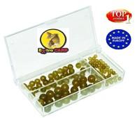 Extra Carp Sada gumových korálků Rubber Beads Set 100ks