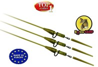 Extra Carp Závěska na olovo Heavy Lead Clips with Quick Change Swivel 3ks