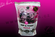LK Baits Boilie Top ReStart Black Protein 18mm 3kg