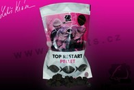 LK Baits Pelety Top ReStart Pellet Black Protein 12-17mm 1kg