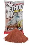 Bait-Tech Krmítková směs Big Carp Method Mix Krill & Tuna 2kg