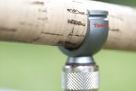 Taska Slitinový klip na prut s korkovou rokojetí
