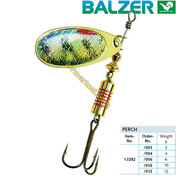 Balzer Rotační třpytka Colonel Z 3D Rotauge (spinner barsch)