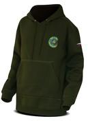 Chyť a pusť Mikina Hooded sweater zelená
