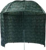 Mivardi Deštník camou PVC s bočnicemi 250