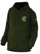 Chyť a pusť Mikina Hooded sweater zelená - vel. M