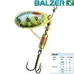Balzer Rotační třpytka Colonel Z 3D Rotauge (spinner barsch) - 4g