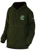 Chyť a pusť Mikina Hooded sweater zelená - vel. L