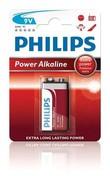 Fotografie Philips Baterie 9V PowerLife alkalická
