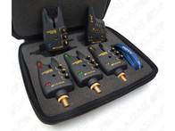 Flajzar Fishtron Q9-TX sada 3 signalizátorů + přijímač Q-RX + kufřík 3+1
