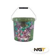 NGT Kbelík Small Camo Bucket 5L