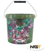 NGT Kbelík Large Camo Bucket 15L