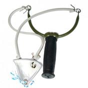 Delta Rybářský prak kovový + plastový košík