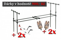 Mivardi Carp Multi Pod set (vidličky + hrazdy)+ 2x Sounder Easy + 2x Swingarm Easy Zdarma!