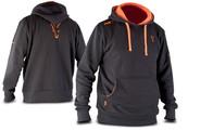 Fox Mikina s kapucí Black & Orange Hoody - | vel. M