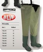 Spro Brodící boty PVC HIP WADERS - vel. 45