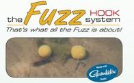 Strategy Kamuflážový háček s oválným kroužkem The Fuzz D-Hook 5ks - vel. 4 Silt