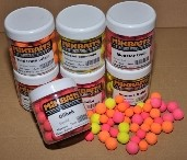 Mikbaits Plovoucí boilie 250ml - Neutral fluo mix 18mm