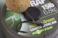 Korda Šňůrka N-Trap Soft 20m - 30lb Weedy Green