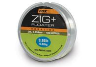 Fox Zig + Floater Hooklink 100m 0,28mm 6,8kg