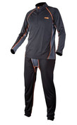 Fox Termoprádlo Chunk Baselayer set black/grey - | vel. XXL