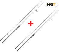 NGT Dynamic Carp Black 12ft 1,8m