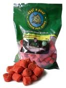 Chyť a pusť Pelety ovocné s dírou 18mm 900g - | Zahradní ovoce