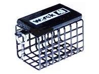 Wirek Feederové krmítko s obratlíkem hranaté - 60g