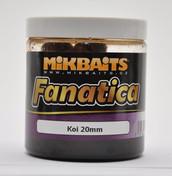 Mikbaits Boilie Fanatica v dipu 250ml - Losos & Ráček & Asa 20mm